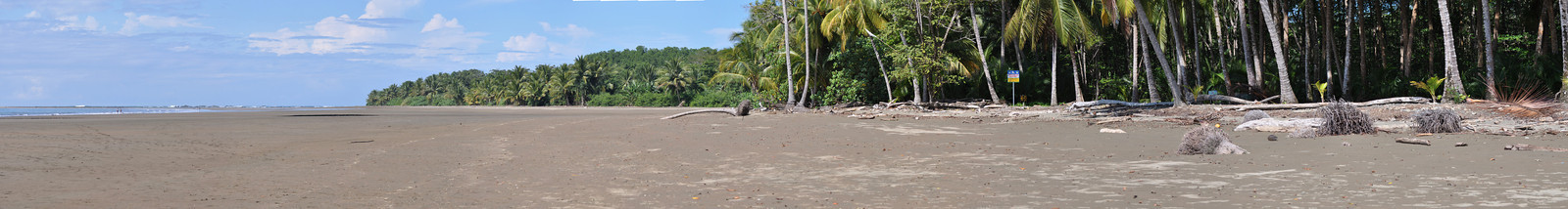 This panorama is on the park beach facing north. The far left of the image is the sand bar that, in low tide, makes a walkway to the whale tail rocks. Click on this image to make it larger; once you click on this image you will have options for size at the top of the image - choose the size that you prefer.
